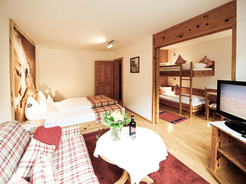 Familiensuite in Hotel am Arlberg