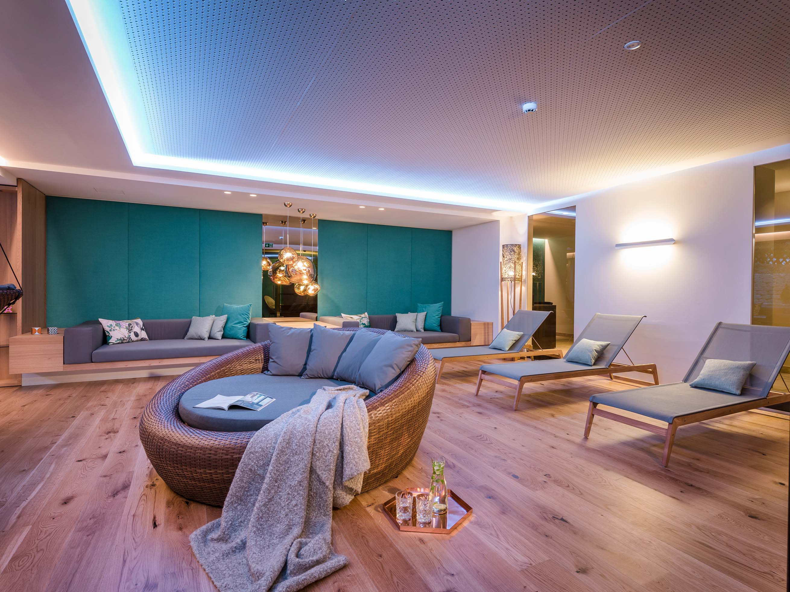 Relaxation in the spa area - St. Anton